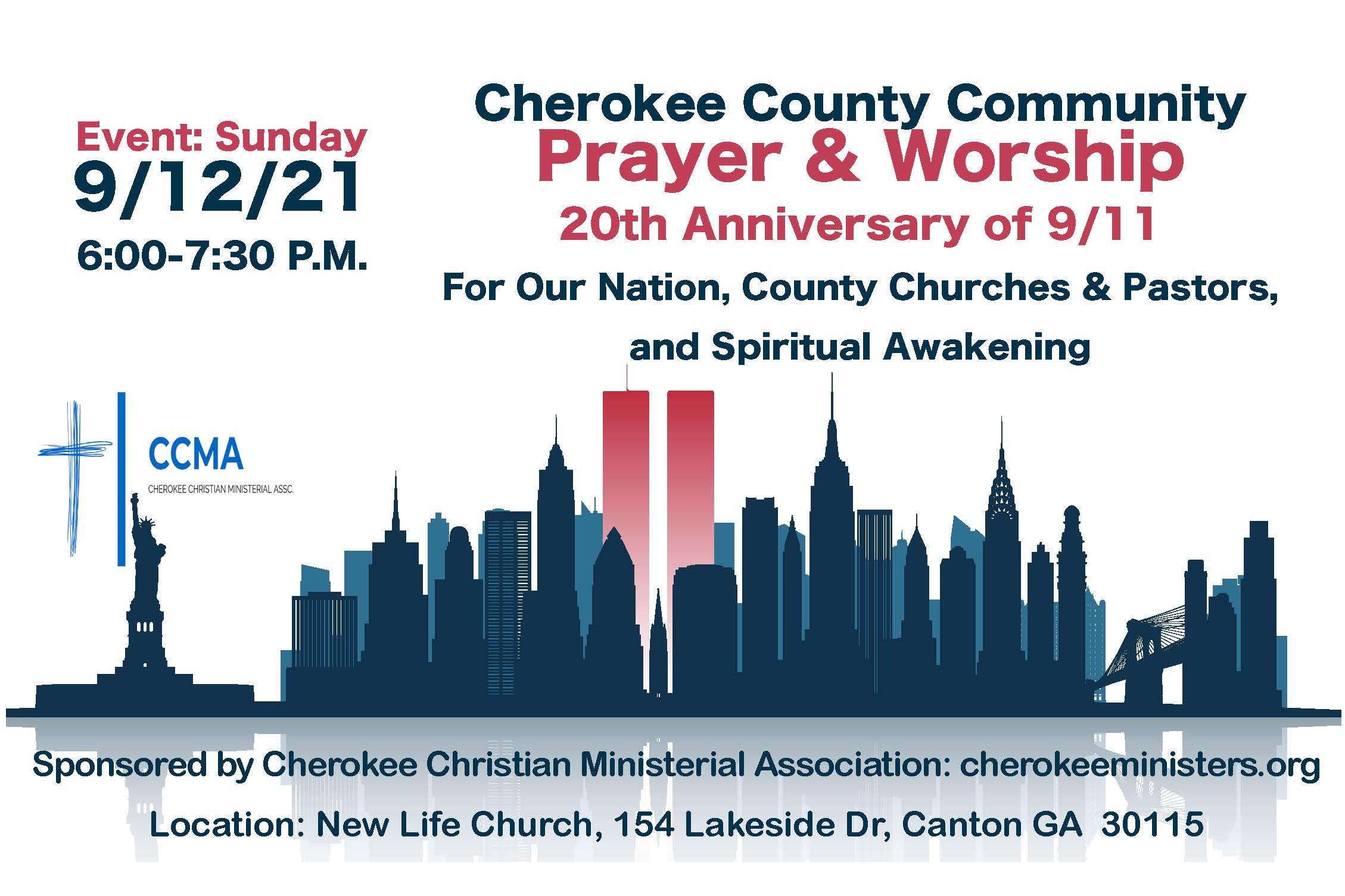 Cherokee County Prayer and Worship Night